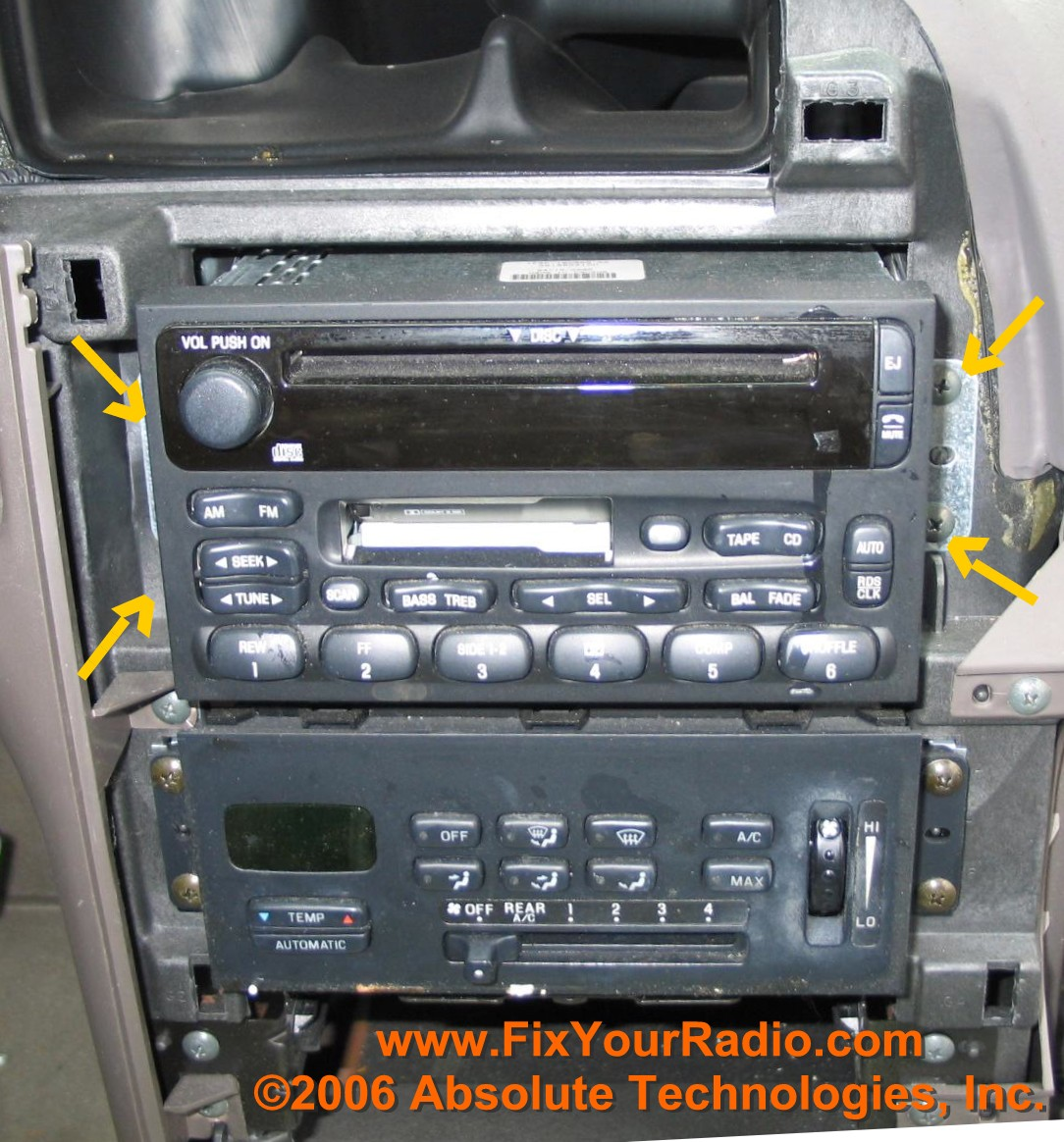radio repairs including blank radio display  ford 2000 nissan quest ac wiring diagram